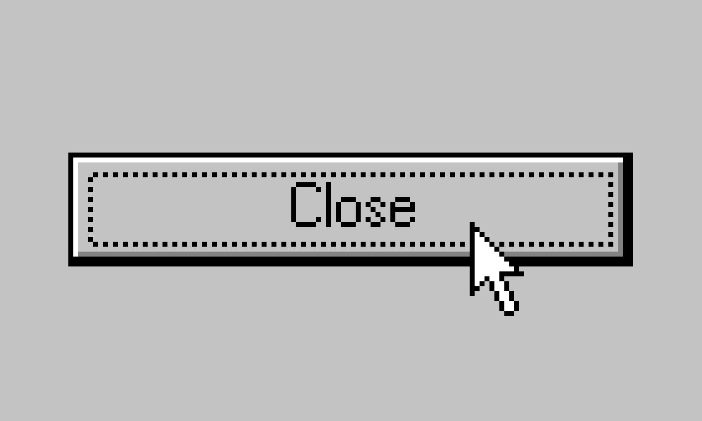 En knapp i gamla goda Windows 95