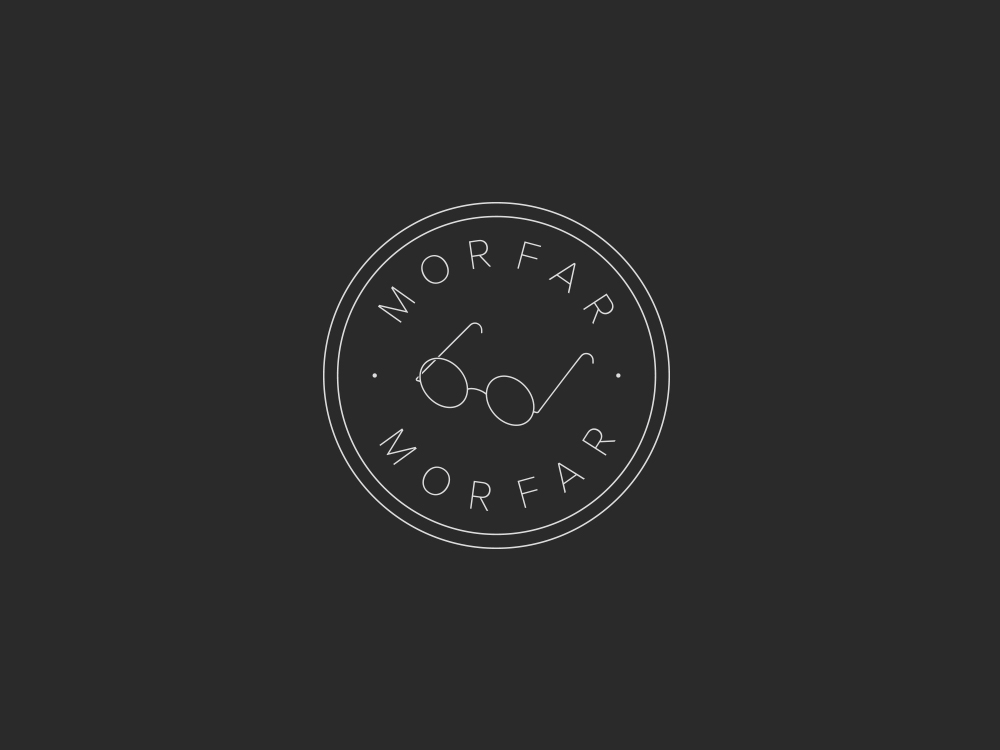 Logotype for embossing - Morfar - Handcrafted by Sweden